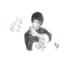 Bruce Lee by BROTERS707