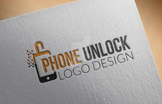Phone-Unlock-Logo.... by Grafix-Drive