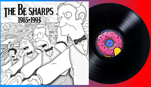 The Be Sharps Record Cover by Mountaindude246