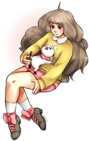 bee and puppycat by haleyaliya