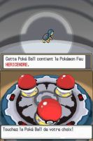 Pokemon ClearCrystal Starters Cyndaquail by Steamland