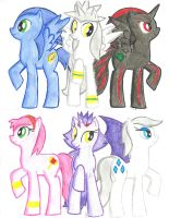 Sonic My Little Pony :D by silverjaqui