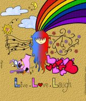 Live.Love.Laugh by littledoodles