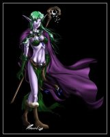 Night Elf by ForkysAnime