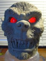 Werewolf Candle Holder front by super-villin