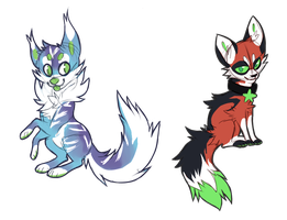 .: Sketch Adoptables CLOSED :. by Spunky-Mutt