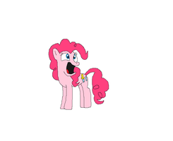Pinkie Shocked!? Or happy? by kitty55501