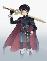 Marth 2 by GuilhermeRM