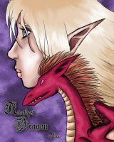 Amethyst Dragon_Ch 1 Cover by wulfiesacolyte