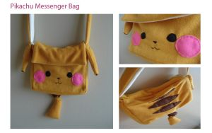 Pikachu Messenger Bag by bellebleu