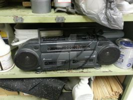 Old Stereo by canona2200