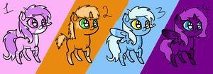 CHEAP PONY ADOPTABLES 5 POINTS AND LESS by Prettyxmouse