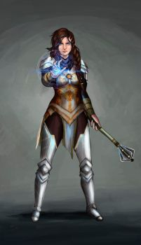 Clea the Cleric 2.0 by sofimartinez