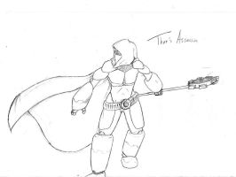 Thor's Asssassin Lines by chrosis