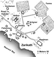 Zarikath Village Map by JeffDee