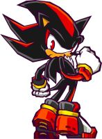 Shadow from Sonic Battle by Mattox33