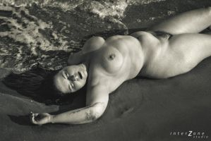 Cecile at the beach 02 - version 2 by Zone-studio