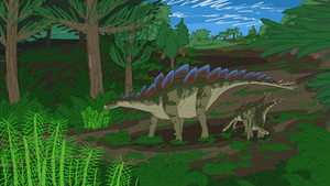 Stegosaurus by ScottaHemi
