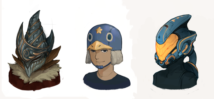 Bunch of helmets by tiagorcp