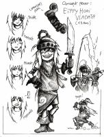 Croquis Grim Fate - Eiffy (quinze ans.) by Coqualier