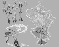 character design poses for royale by 7point7