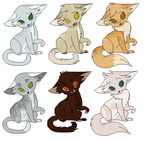 Tsc fundraiser adoptables by Rocandrol