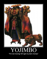 Yojimbo motivation poster by TPPR10