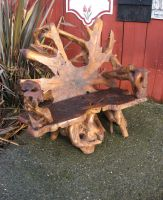 Driftwood Chair by GreenEyezz-stock