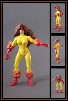 firestar custom figure  -  commission by nightwing1975