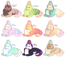 Baby Ligobat Adopt Batch (set price/ OPEN 3 left) by Ponacho