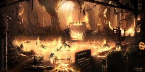 The Pleasure-park of Hell by Xyrga