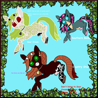 AUG 17: 8 Point Cow Pony Adopts! by Chickfila-Chick