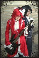 Grell and Sebastian j-rock by Prince-Lelouch