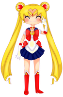 Sailor Moon by echi-chan1