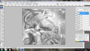 work in progress. spirit of Griffins by FlorindaZanetti