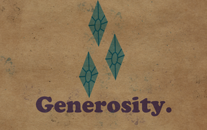 Wallpaper - Worn Generosity by ElectricCoffee