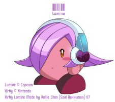 Kirby -Lumine Mode- by Soul-Rokkuman