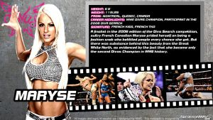 WWE Maryse ID Wallpaper Widescreen by Timetravel6000v2