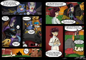 Riolu is Born - Page 23-24 by TamarinFrog