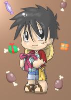 Happy Bday Luffy by LeniProduction