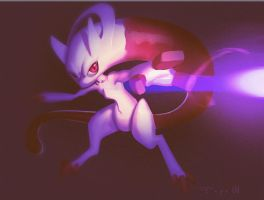 Mewtwo Awakened by Pepe-Navarro