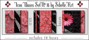 Icon bases Set No. 16 by Sibelle