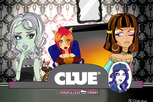 Monster high: Game of CLUE by SC-chibi-fran