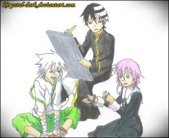 Soul Eater__as_Lost Canvas by khryztal-dark