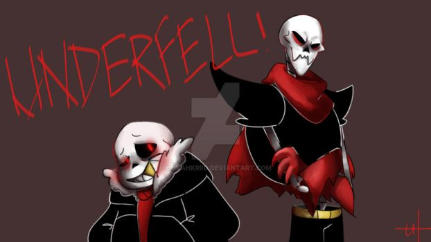 UNDERFELL! Sans and Papyrus by DovahKriid