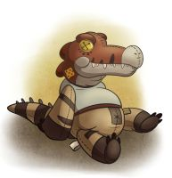 Plushie: Nomad by Robo-Shark