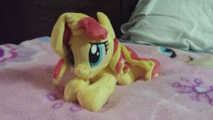 Sunset Shimmer Plush by ClutterCluster