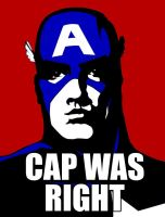 Cap was right by Agent-Foo