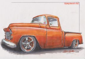 Chevy Truck '56 by HorcikDesigns