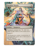 Paradise Mantle - MtG Alter by closetvictorian